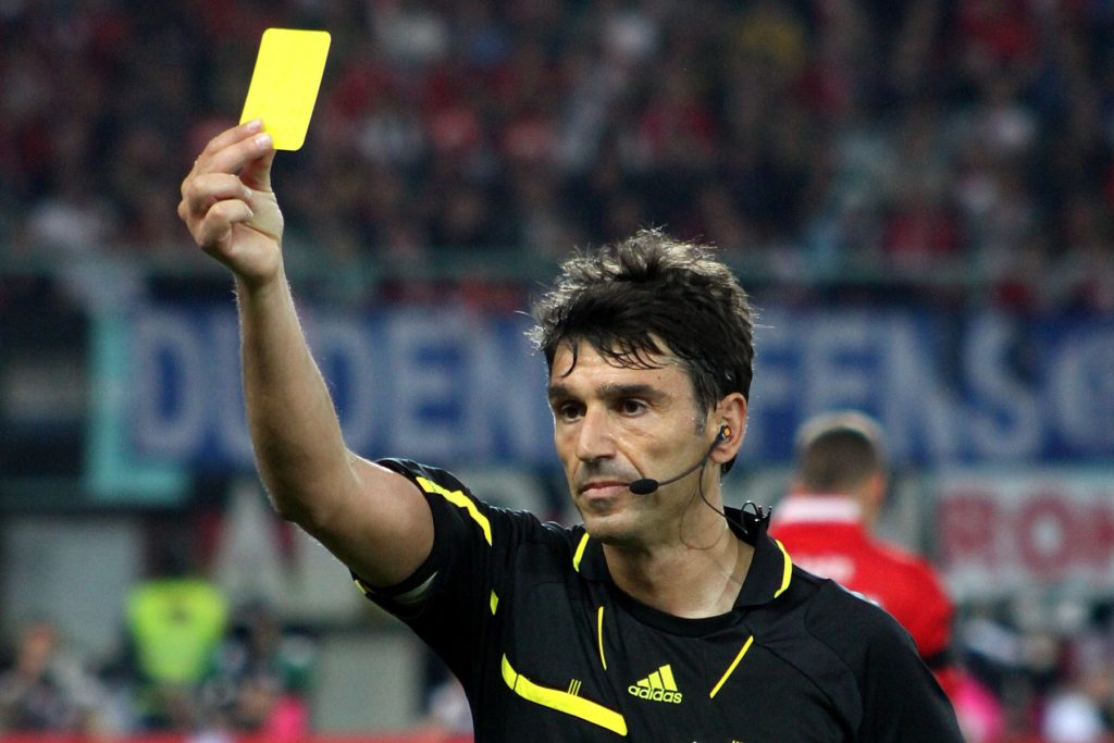 betting on yellow/red cards