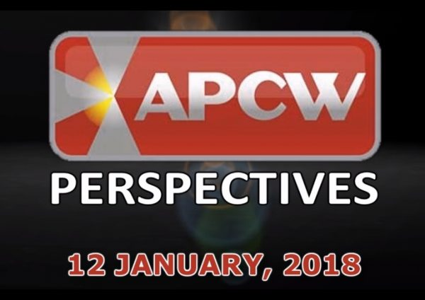 Relentless Changes in the UK and EU APCW Perspectives for 12 January 2018