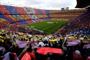 barcelona record atletico madrid trophies fans