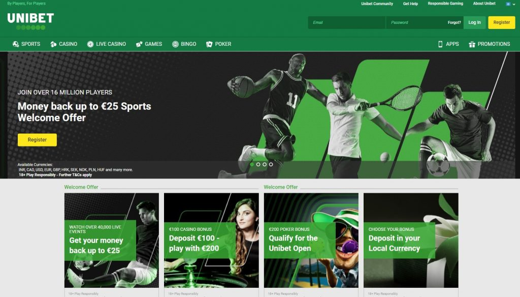 freebet unibet live streaming owner email