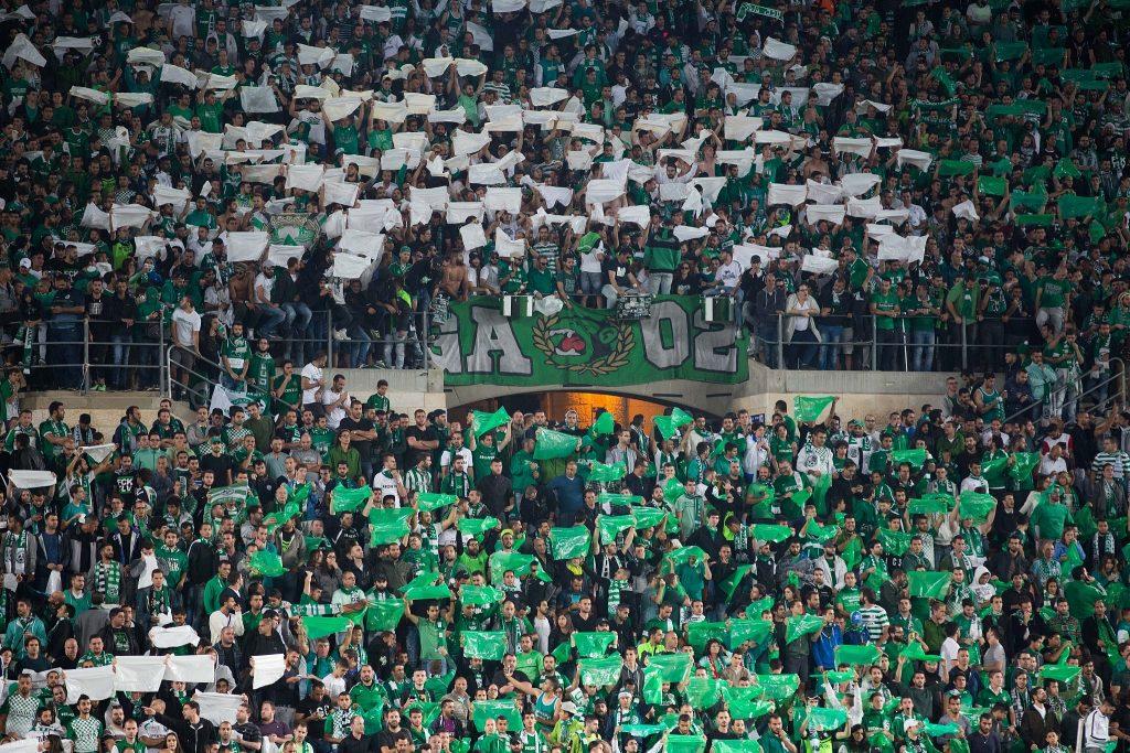 israel football maccabi haifa fc fans
