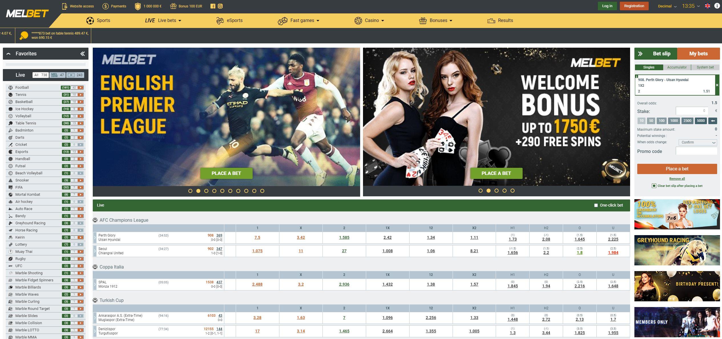 melbet bookmaker casino live mobile app mellbet