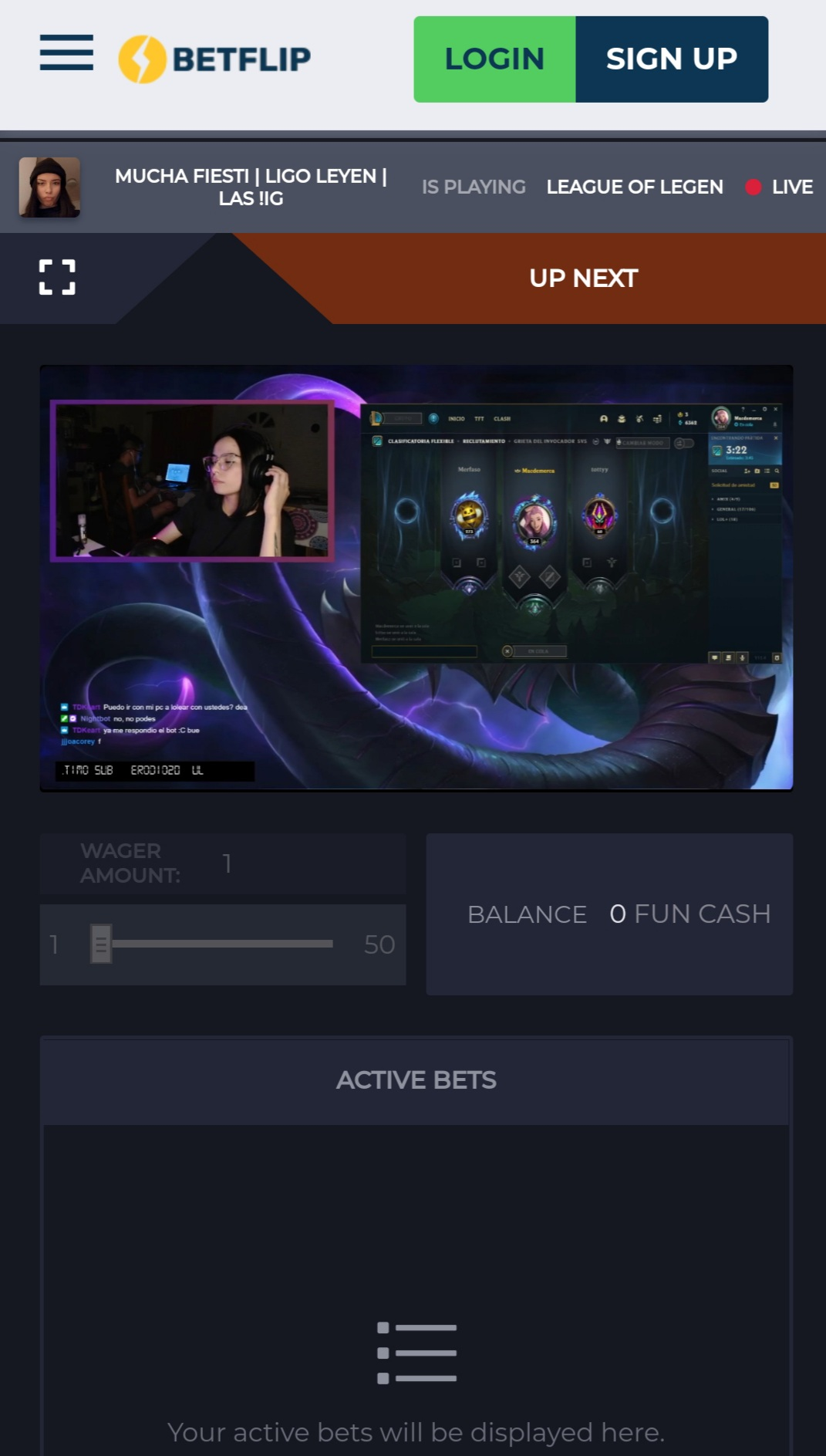 betflip esports betting platform