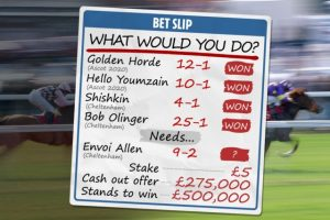 which online betting site has cash out