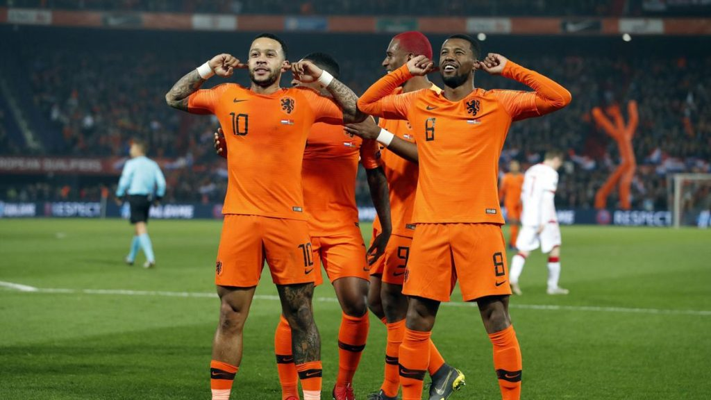 netherlands wales denmark finland national football team