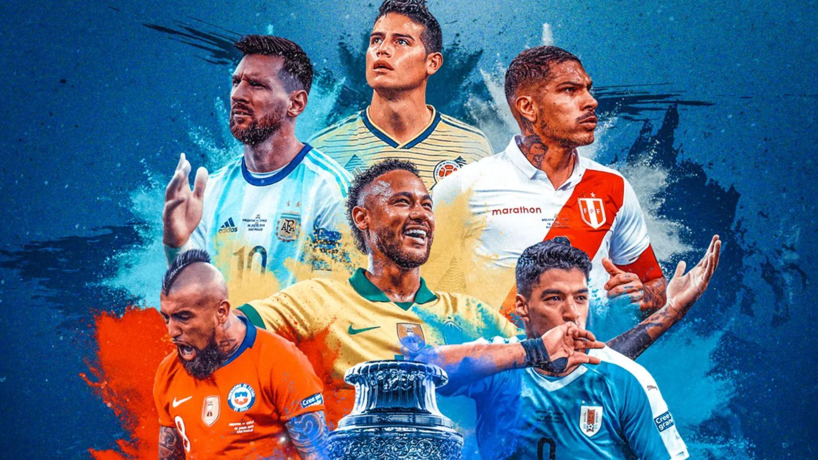 2021 Copa America winners format games finals