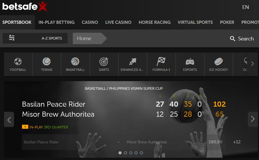 betsafe nfl sports betting live stream