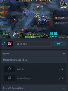 thunderpick live betting
