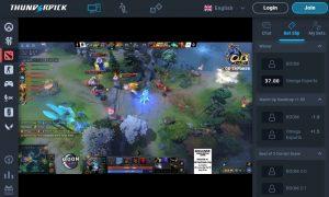 thunderpick live bet